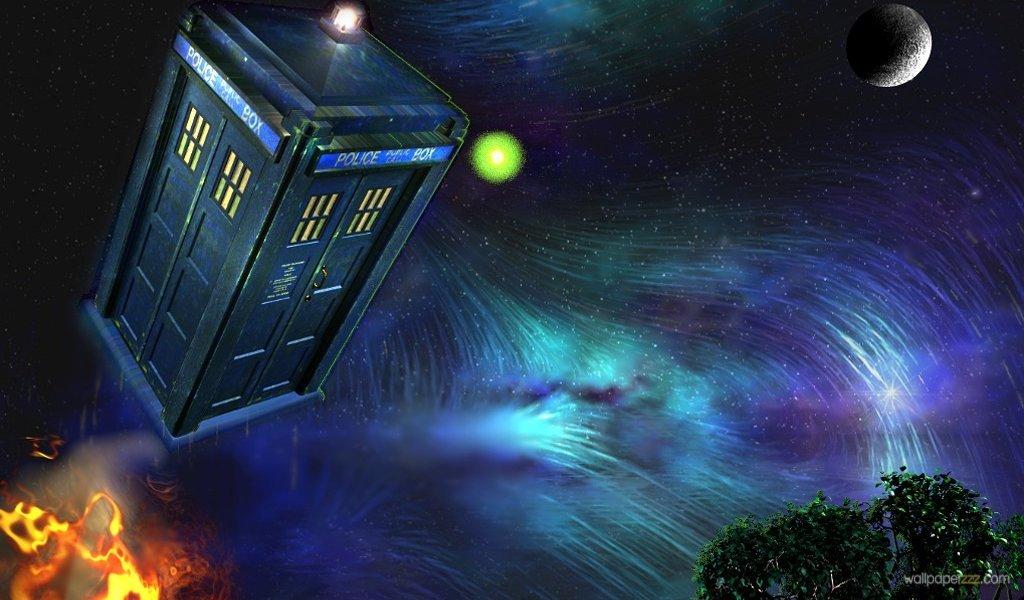 Download TARDIS Widescreen Wallpaper Wallpaper 1024x600