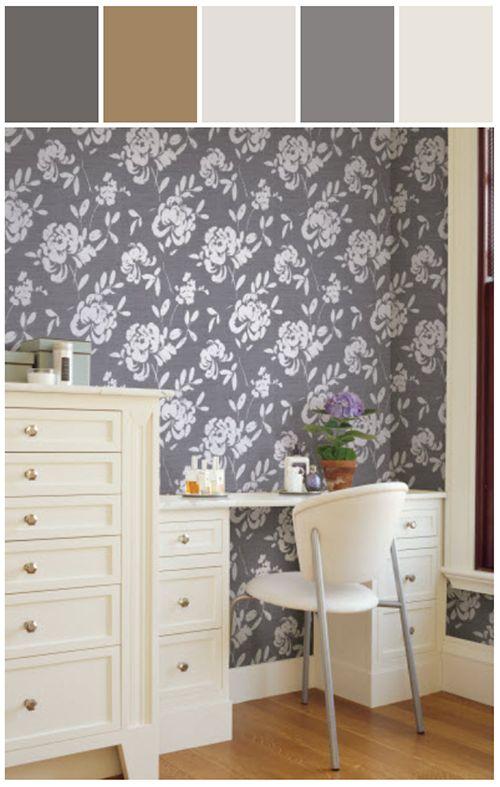 HGTV Sherwin Williams Wallpaper colorful wallpaper For Powder 500x787
