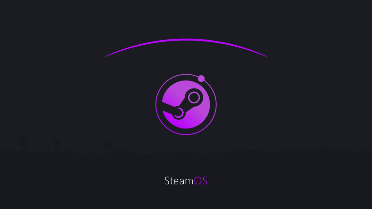 SteamOS minimalist wallpaper [4k] by CM2D 1191x670