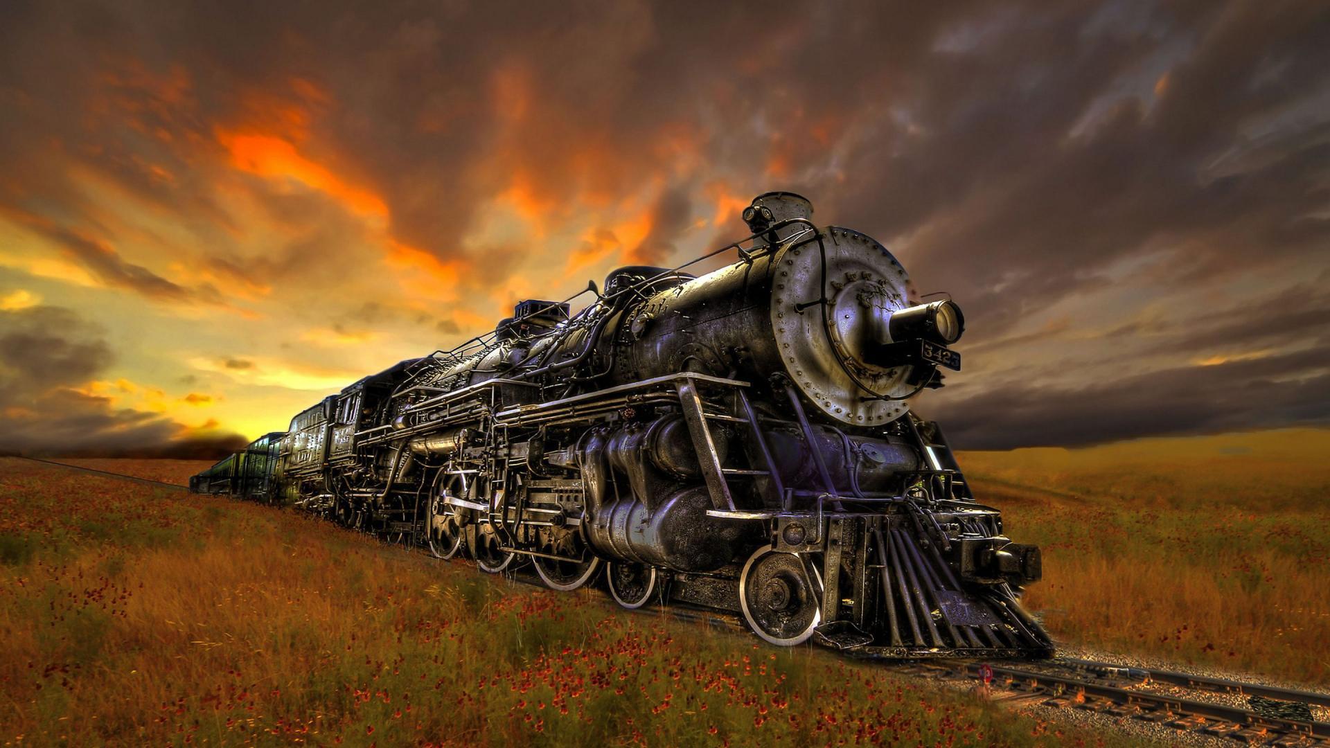 48 Hd Train Wallpaper On Wallpapersafari