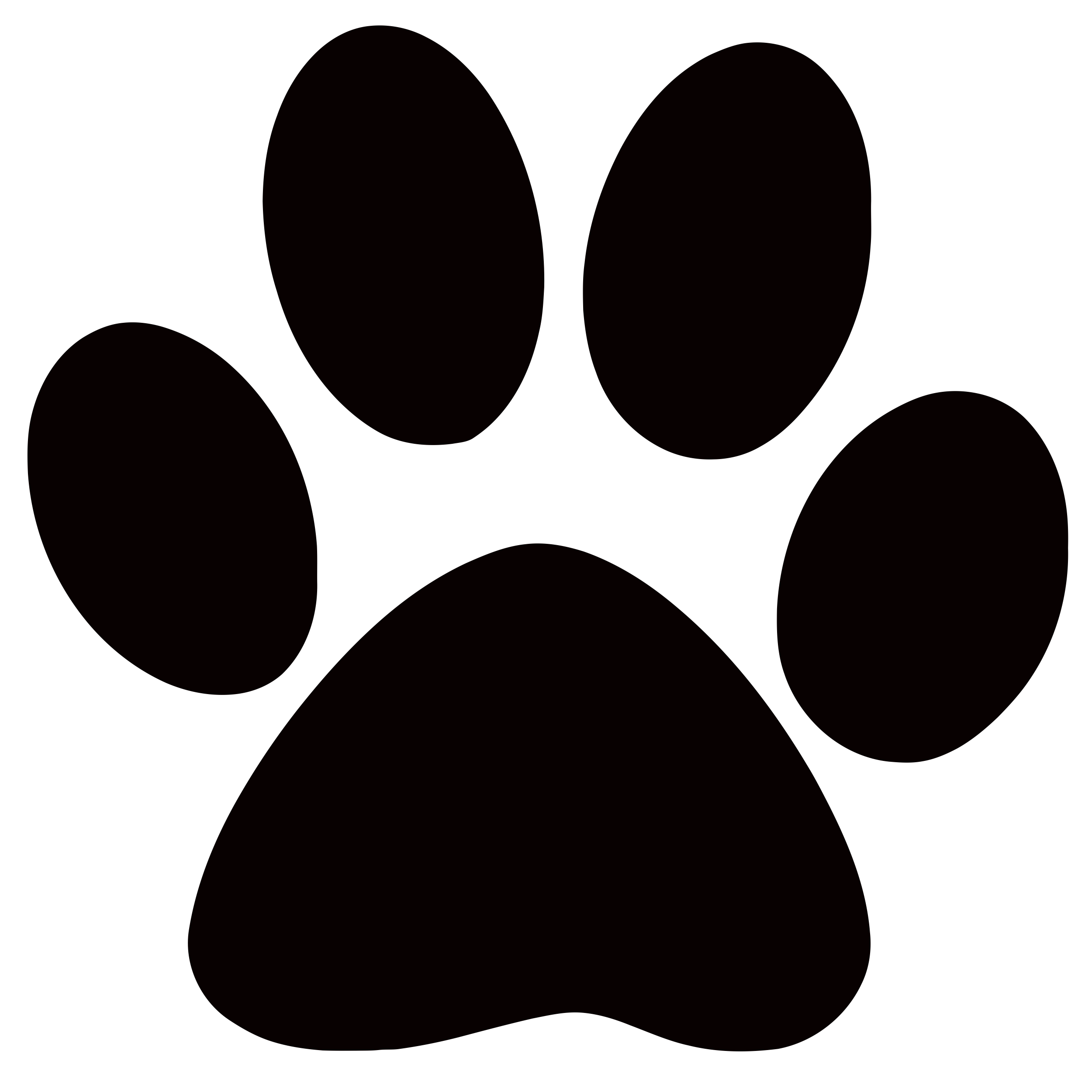 Dog Paw Print Images   HD Wallpapers Lovely 2500x2500