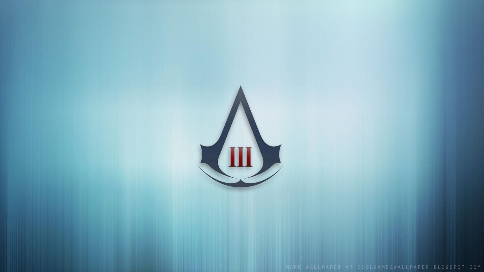Assassins Creed 3 Logo Wallpaper   Cool Games Wallpaper 1600x900