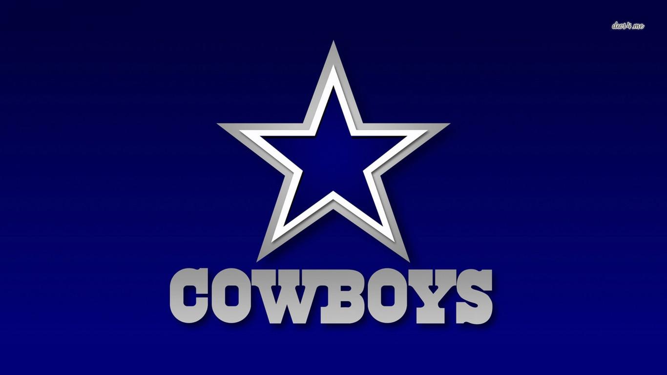 Dallas Cowboys Logo wallpaper   Sport wallpapers   29519 1366x768