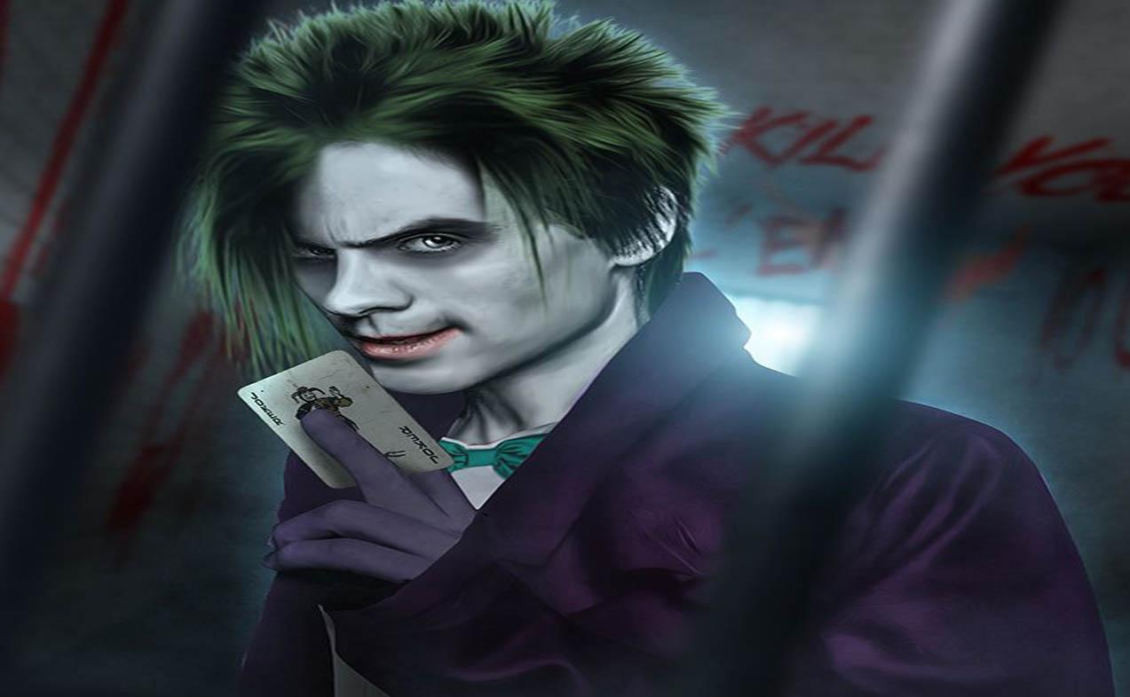 Download Suicide Squad Character Joker HD Wallpaper Wide Desktop 1273x786