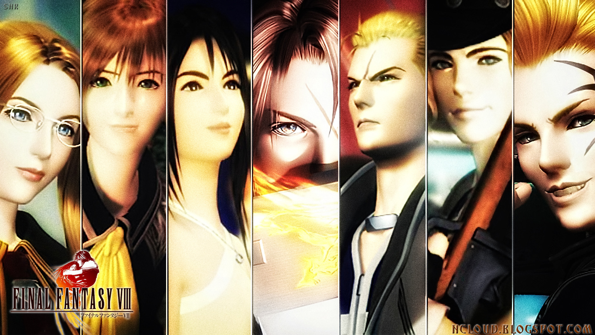 Games Movies Music Anime My Final Fantasy VIII HD Wallpaper 2 1920x1080