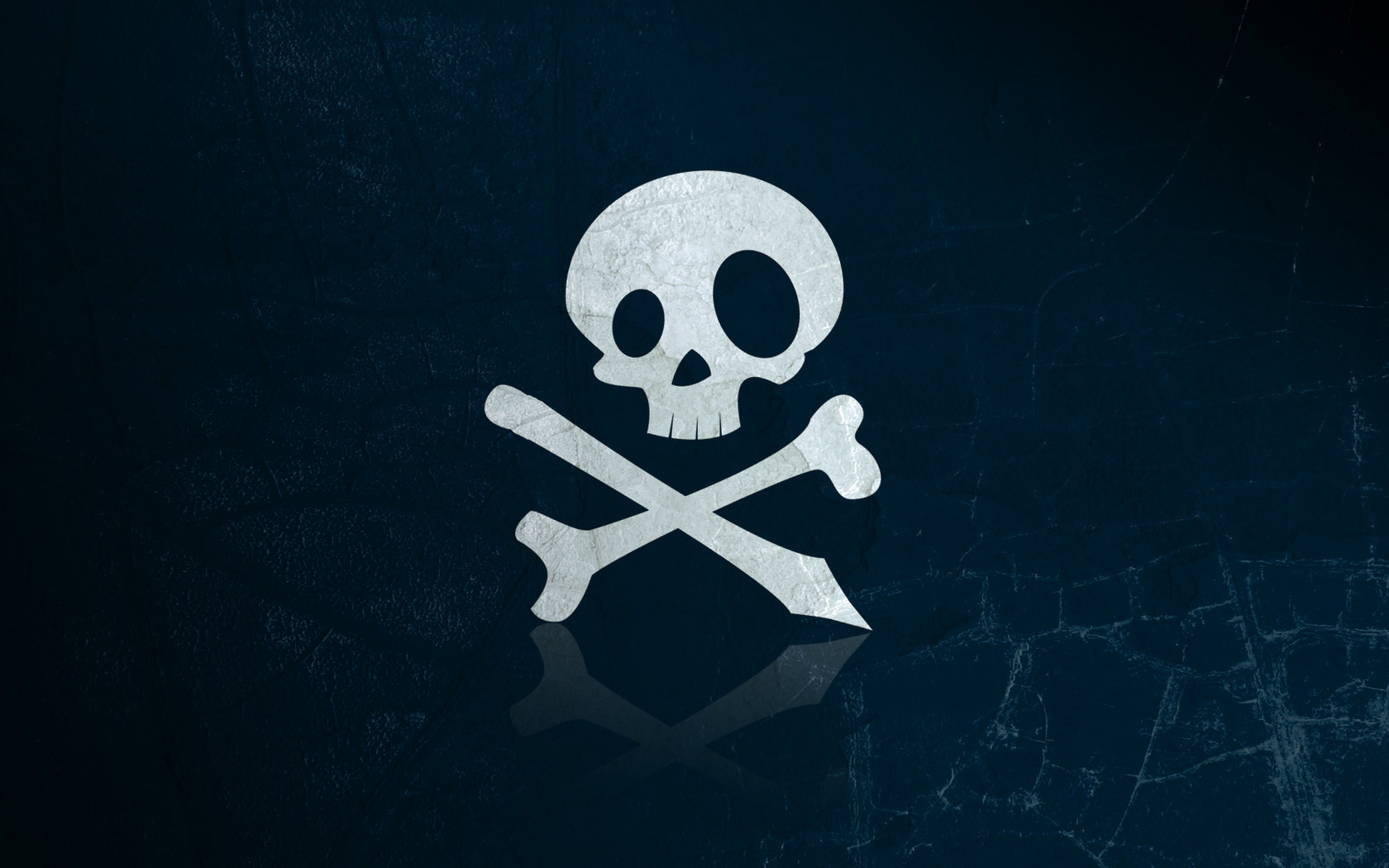 The bones and skull Jolly Roger wallpapers and images   wallpapers 1680x1050