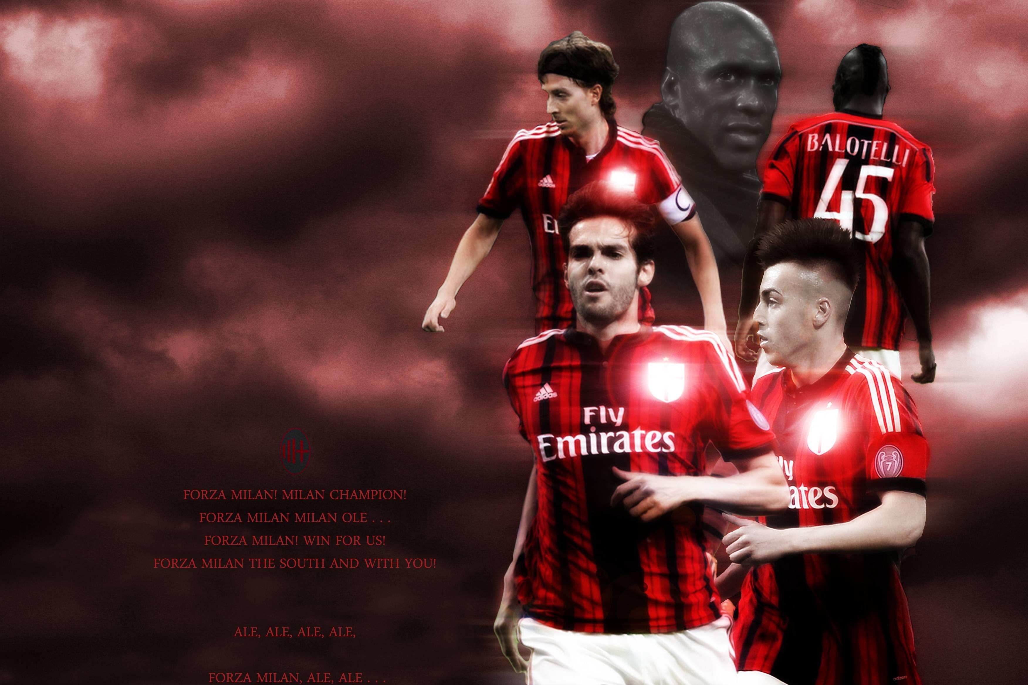 Ac Milan Logo Wallpapers 2015 3504x2336