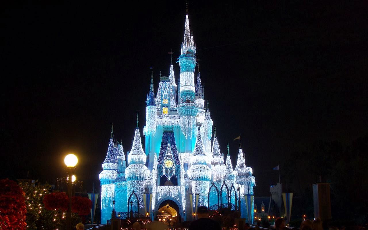 Christmas Lights At Disney World