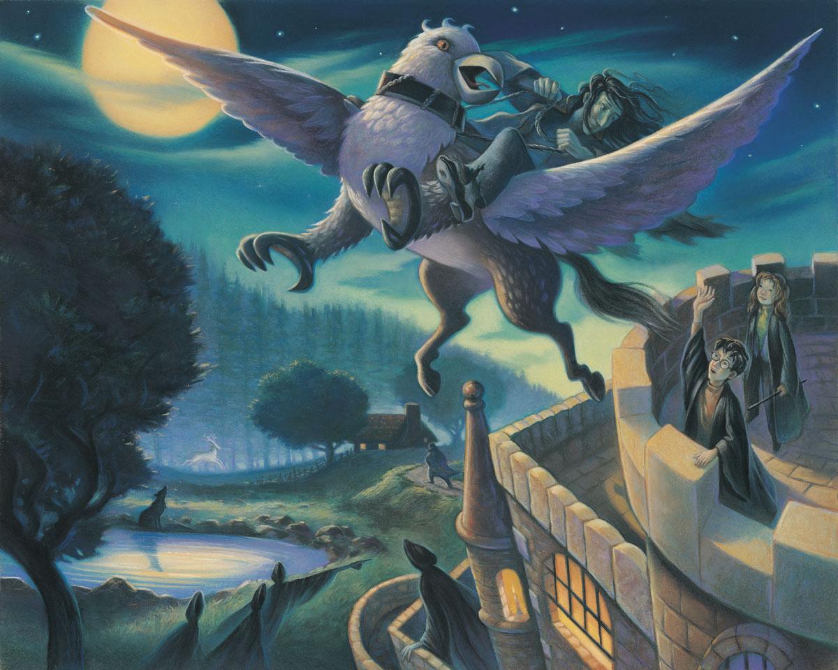 Sirius escapes on Buckbeak Harry Potter Fan Zone 1200x960