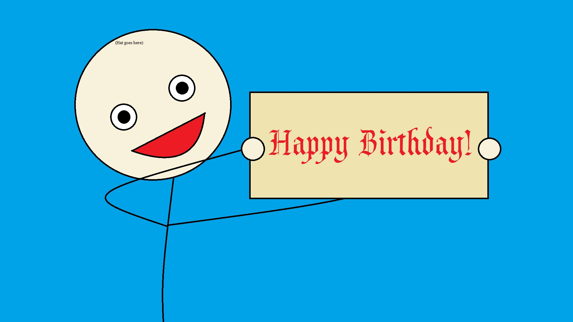 Happy Birthday Funny Cards HD Wallpaper of Greeting   hdwallpaper2013 1920x1080