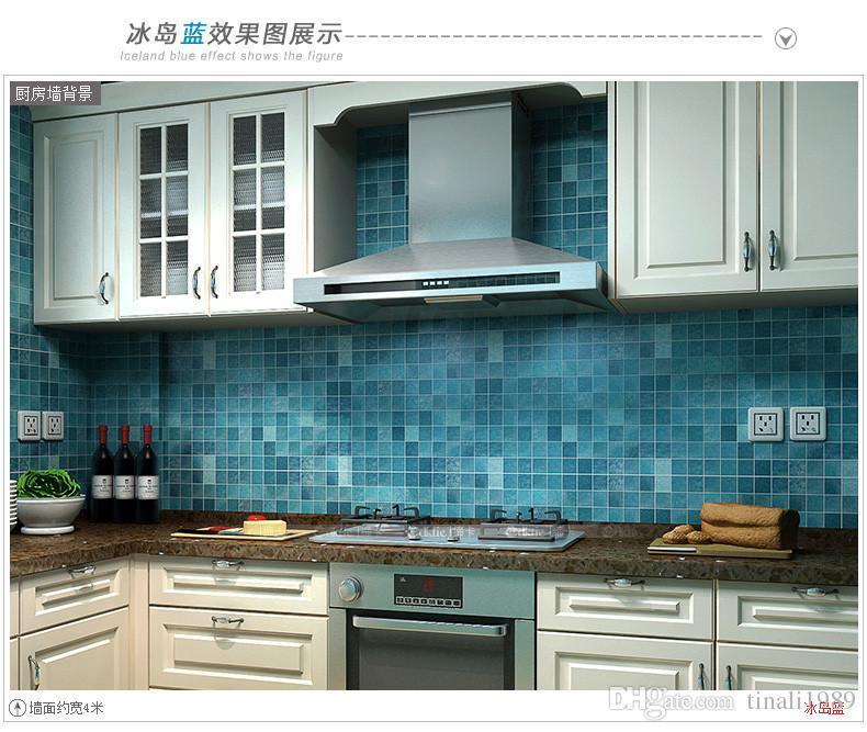 Free Download Bathroom Waterproof Wall Sticker Pvc Mosaic Tile Wallpaper Kitchen 790x667 For Your Desktop Mobile Tablet Explore 39 Kitchen Wallpaper For Walls Country Kitchen Wallpaper Birch Tree Wallpaper