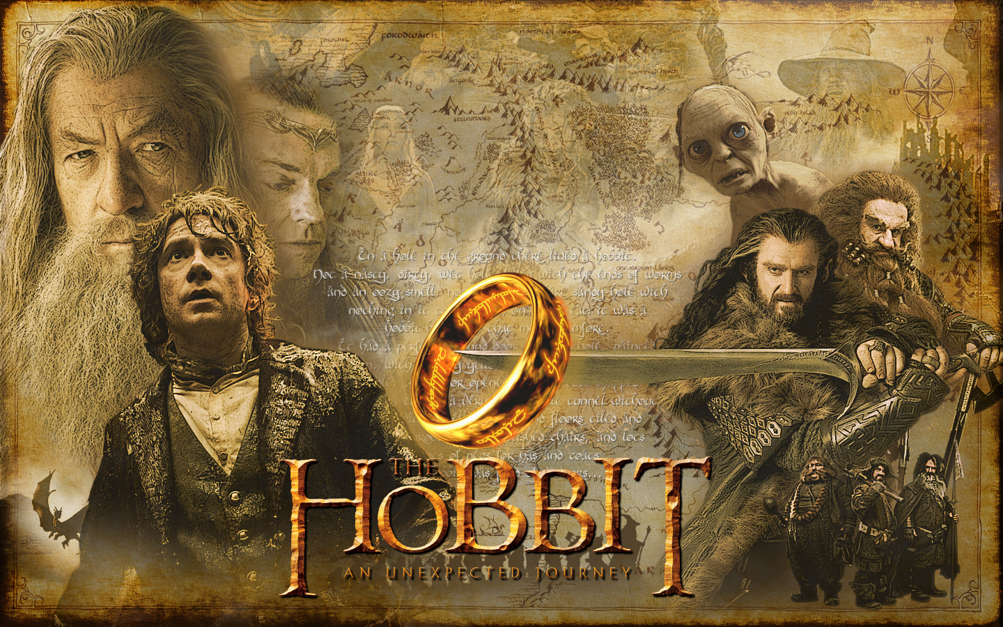 The Hobbit   Wallpaper wallpaper   ForWallpapercom 1440x900