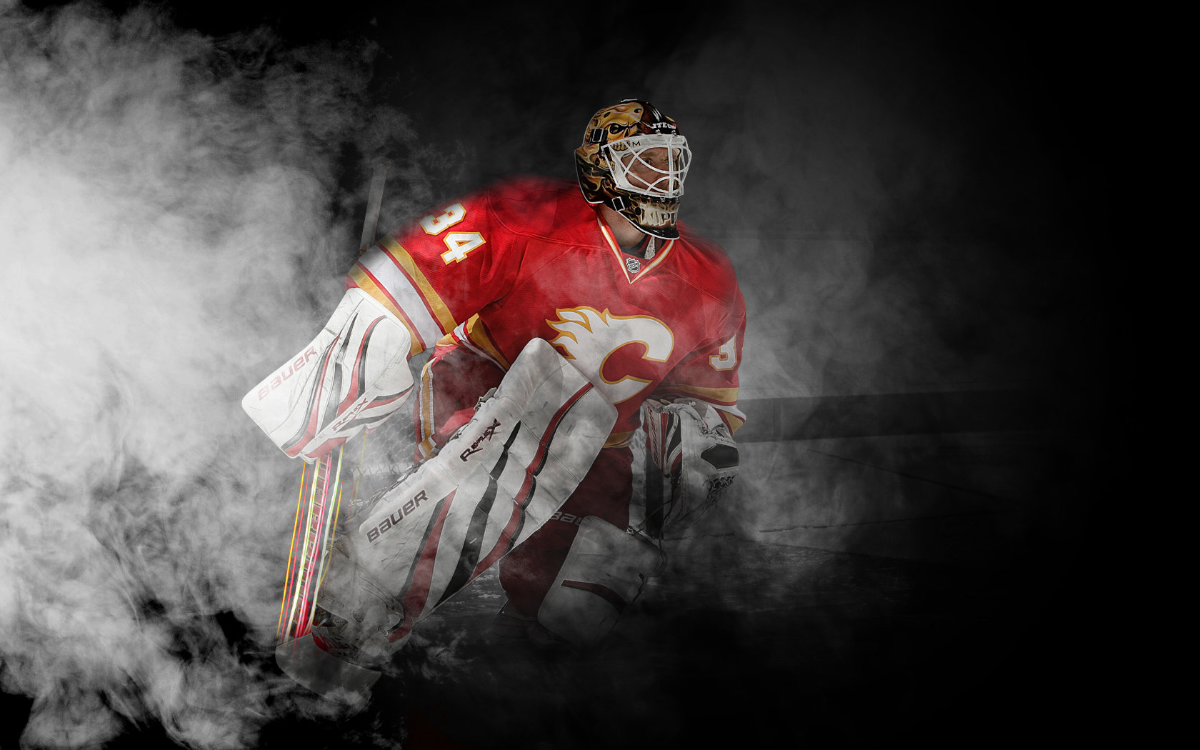 Pics Photos   Calgary Flames Hd Wallpaper 1680x1050