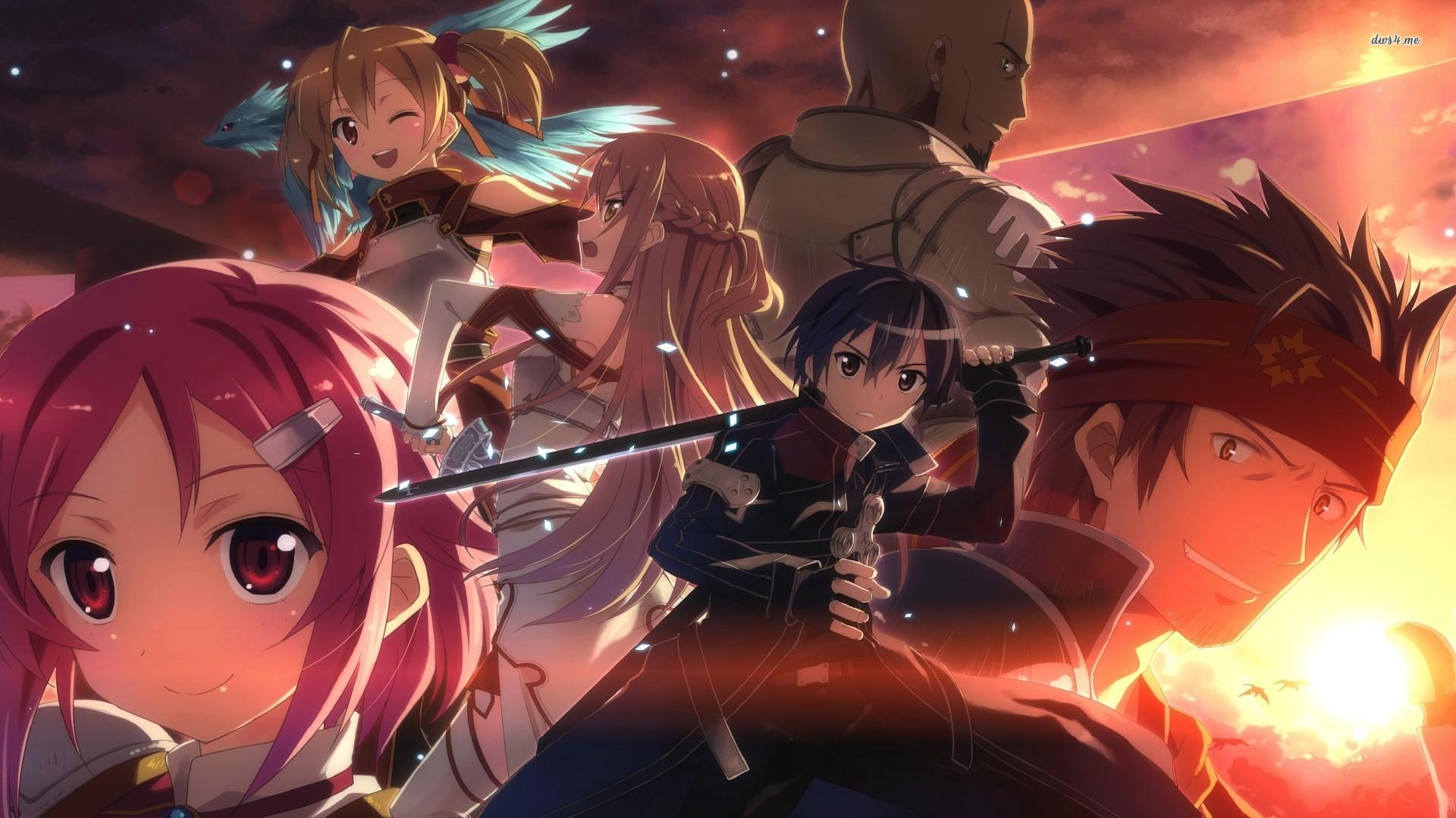 [48+] Sword Art Online Wallpaper 1366x768 on WallpaperSafari