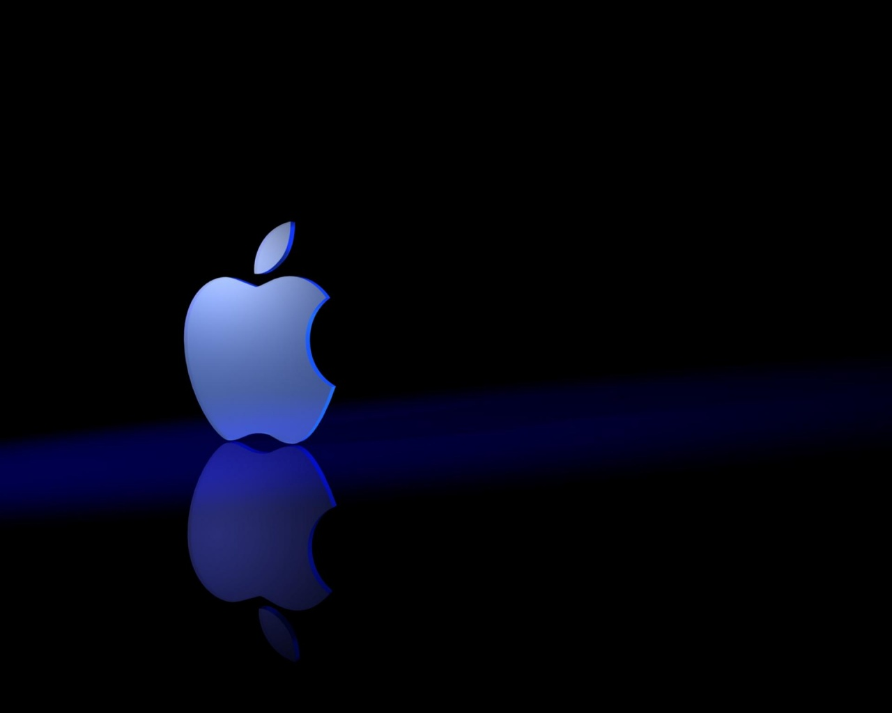 1280x1024 Apple 3Dark desktop PC and Mac wallpaper 1280x1024