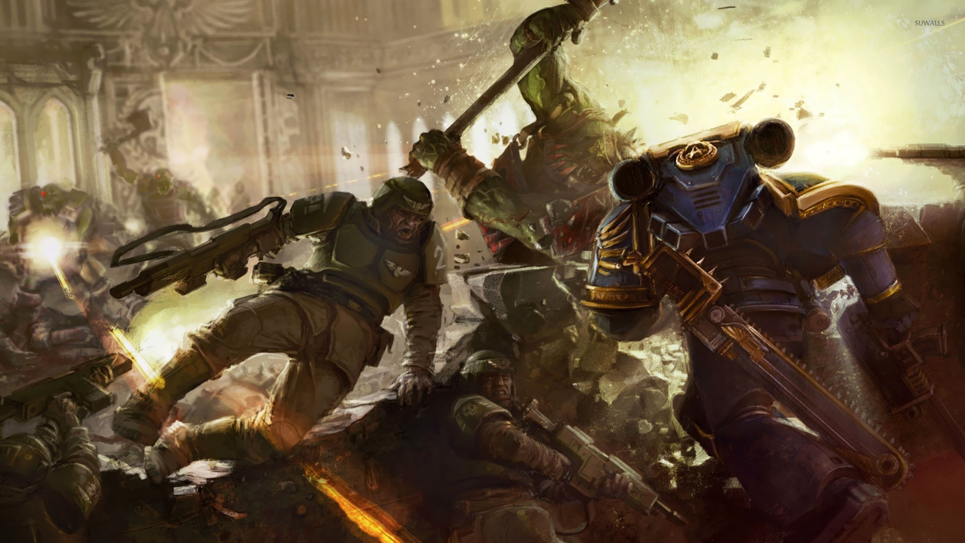 Warhammer 40000 Space Marine wallpaper   Game wallpapers   15709 1920x1080