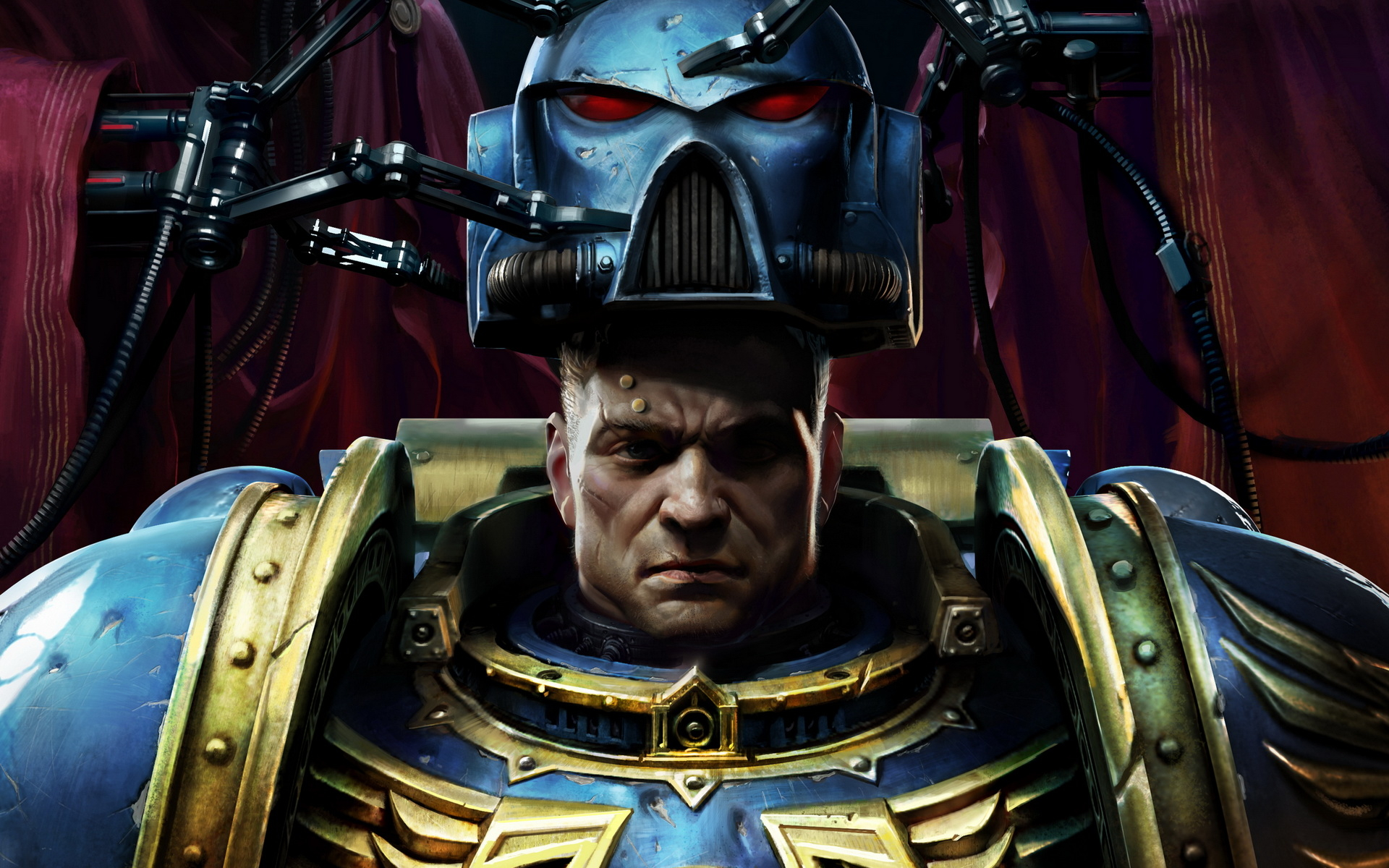 Space Marine Warhammer 40000 Wallpapers HD Wallpapers 1920x1200