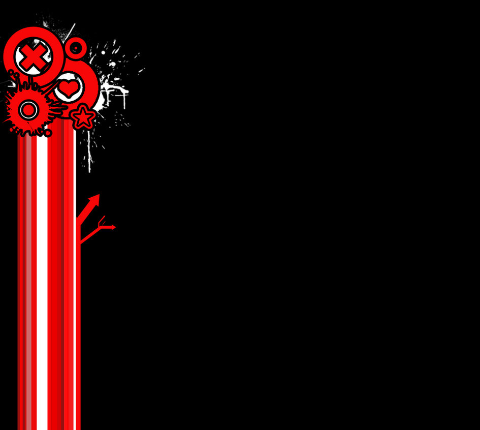 RedBlack myspace background by Rose Coloured Bullet 945x846