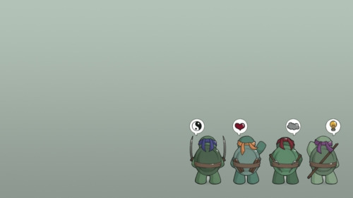 Daily Wallpapers wallpaper small cute ninja turtles 500x281