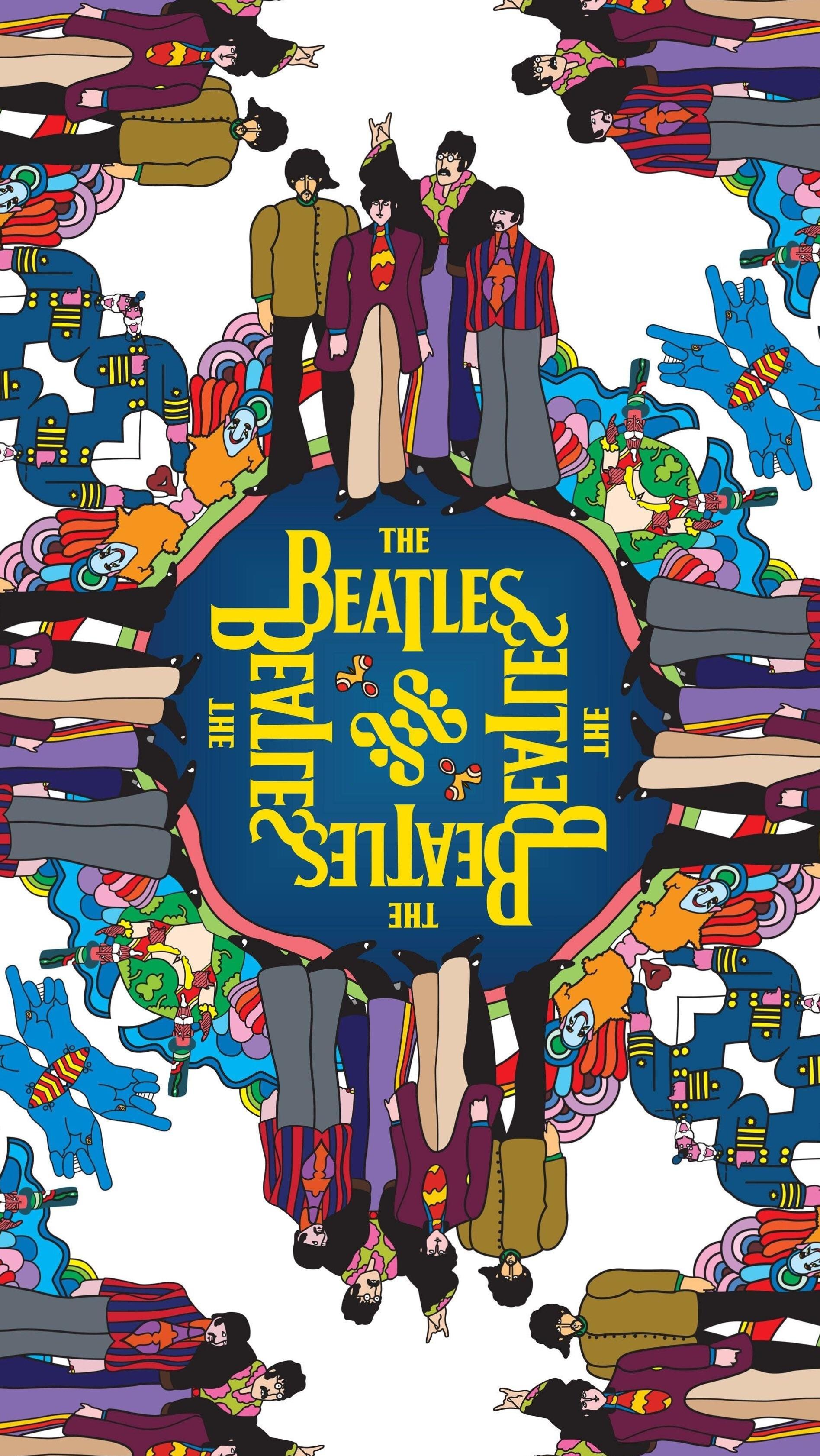 Yellow Submarine phone wallpaper I made for yall beatles 1895x3363
