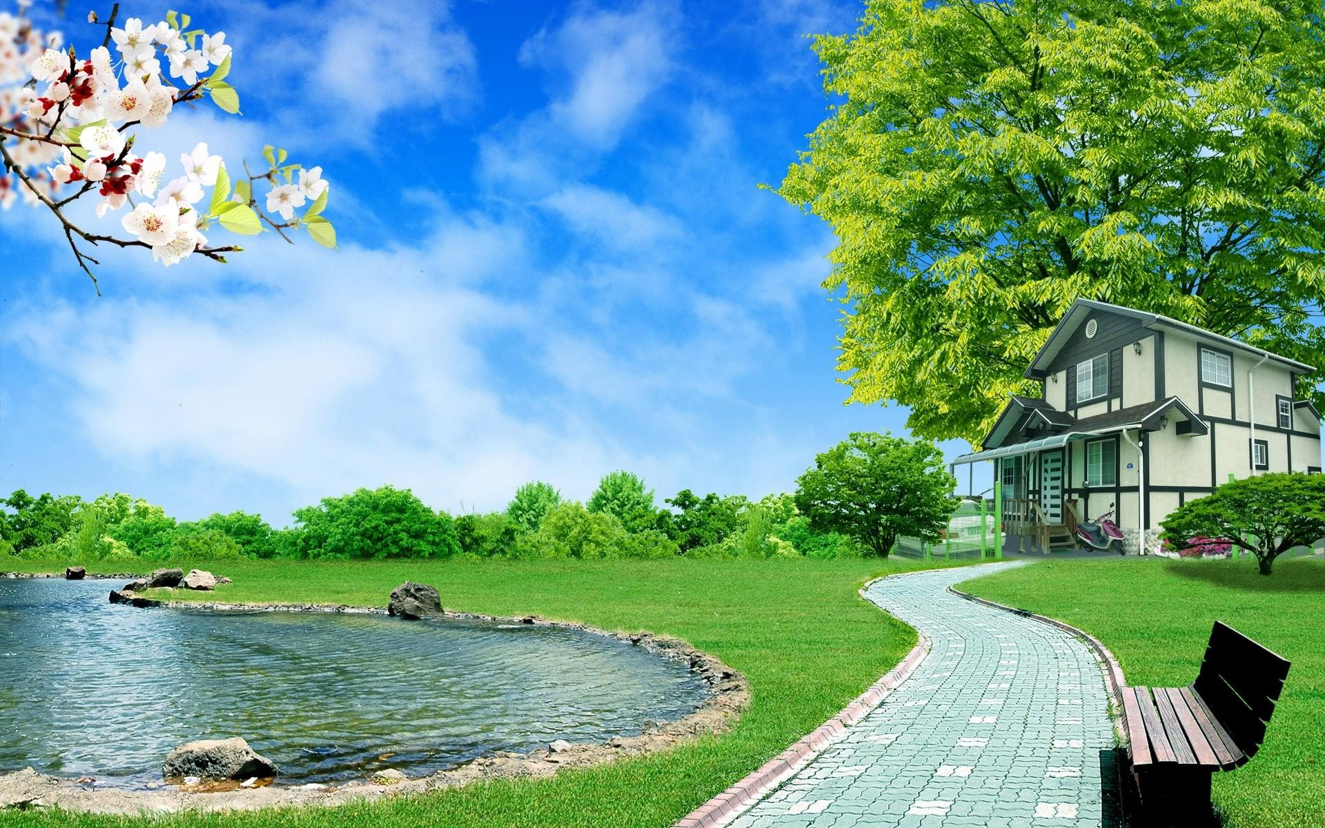Free download 3d nature desktop high definition wallpaper 3d