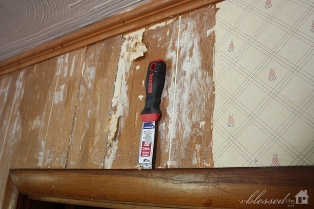 How To Remove Wallpaper From Paneling The Easy Way 630x420