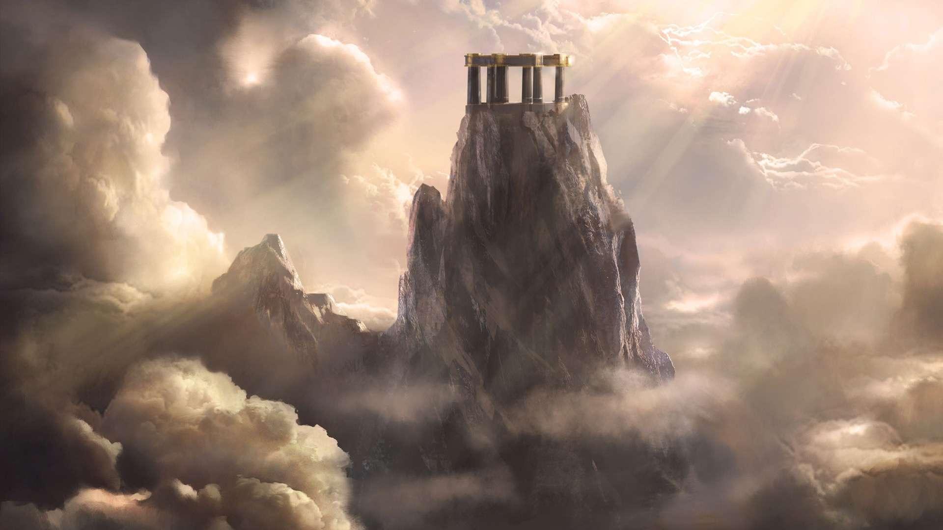 Free Download Wallpaper Mount Olympus God Of War Ascension Hd