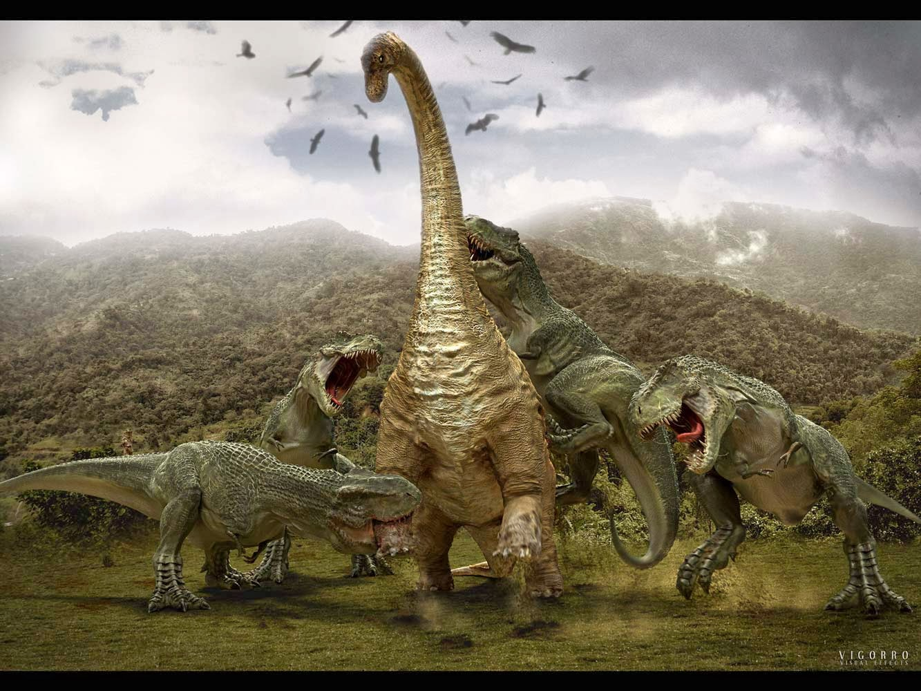 Dinosaurs HD Wallpapers 1333x1000