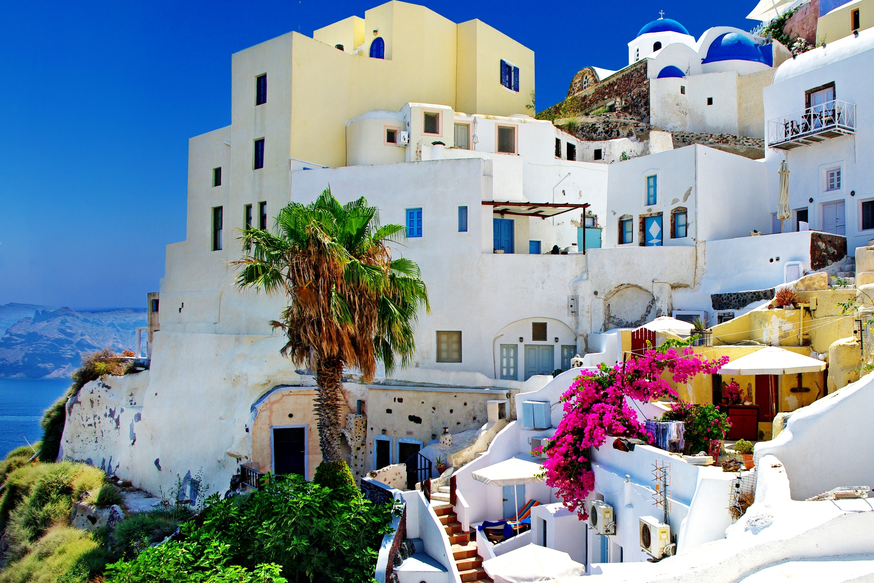 74 Santorini HD Wallpapers Background Images 3000x2000