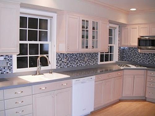 can you put backsplash over wallpaper wallpapersafari. Black Bedroom Furniture Sets. Home Design Ideas