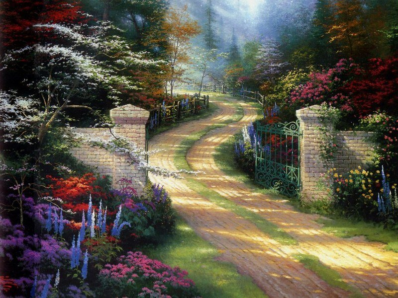 thomas kinkade disney |hd wallpapers|widescreen desktop backgrounds ...