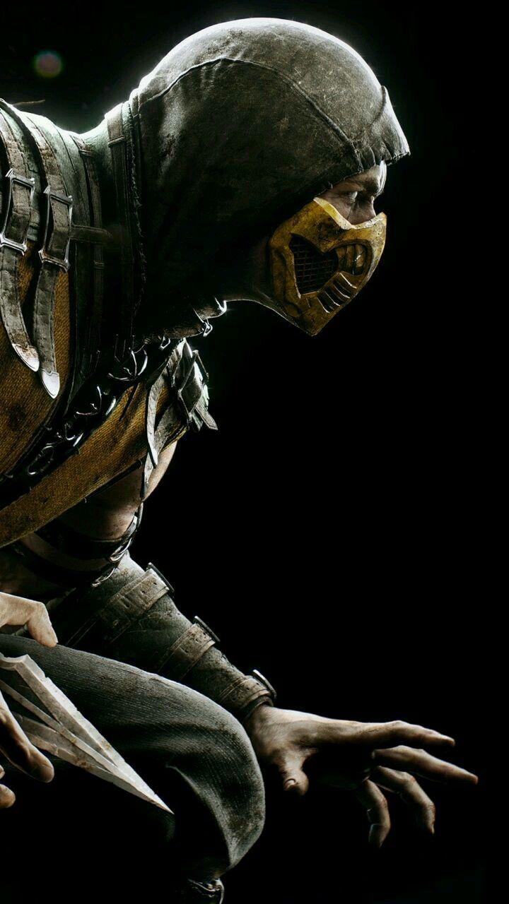 Free Download Scorpion Mortal Kombat Phone Wallpaper Mortal Kombat