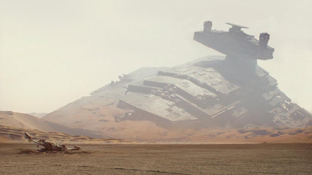Star Wars 7 wallpaper trailer 2 by ismaelArt 1024x576