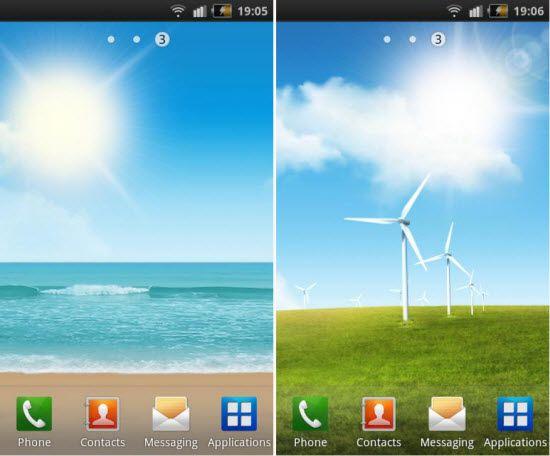 Android Live Wallpaper android live wallpapers download 550x456