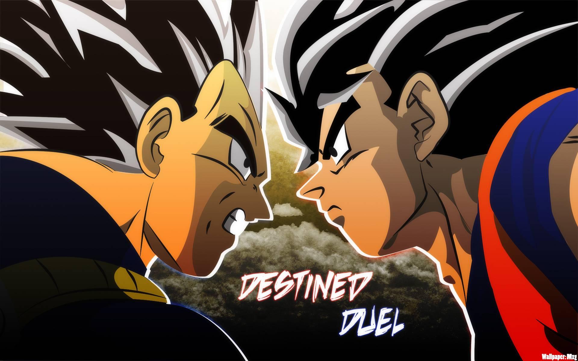 Goku vs Vegeta Wallpaper   Dragon Ball Z Wallpaper 35965661 1920x1200