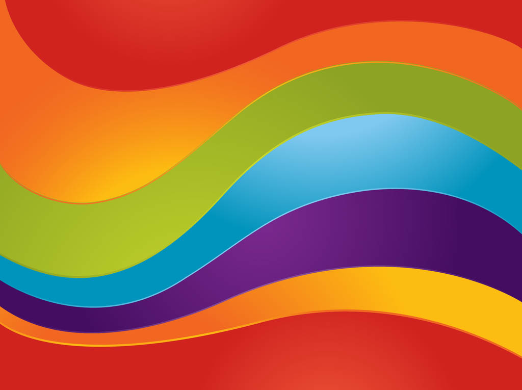 Curved Rainbow Vector 1024x765