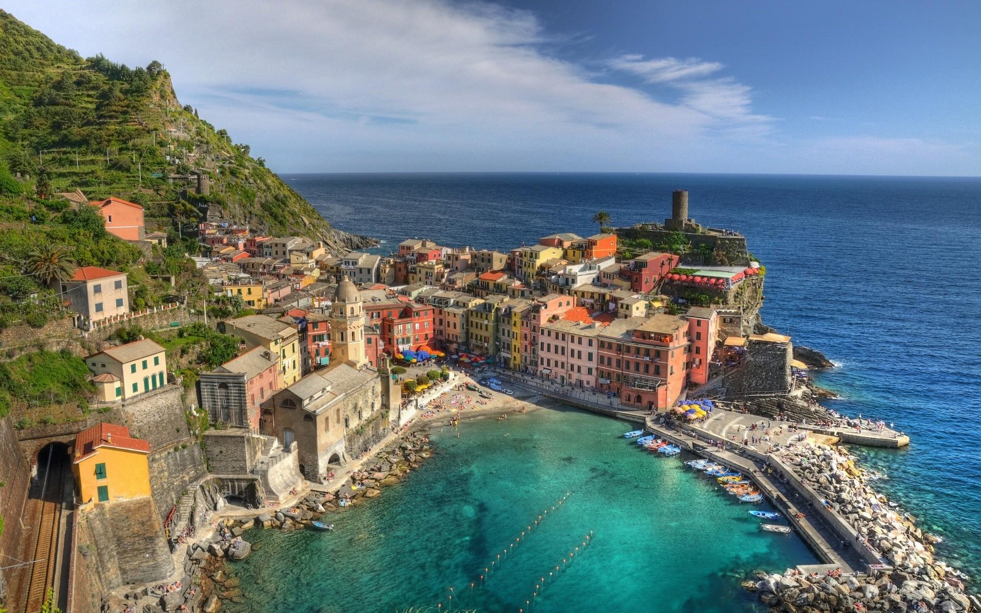 Sea Italy Wallpaper 1920x1200 Sea Italy Cities LaSpezia 1920x1200