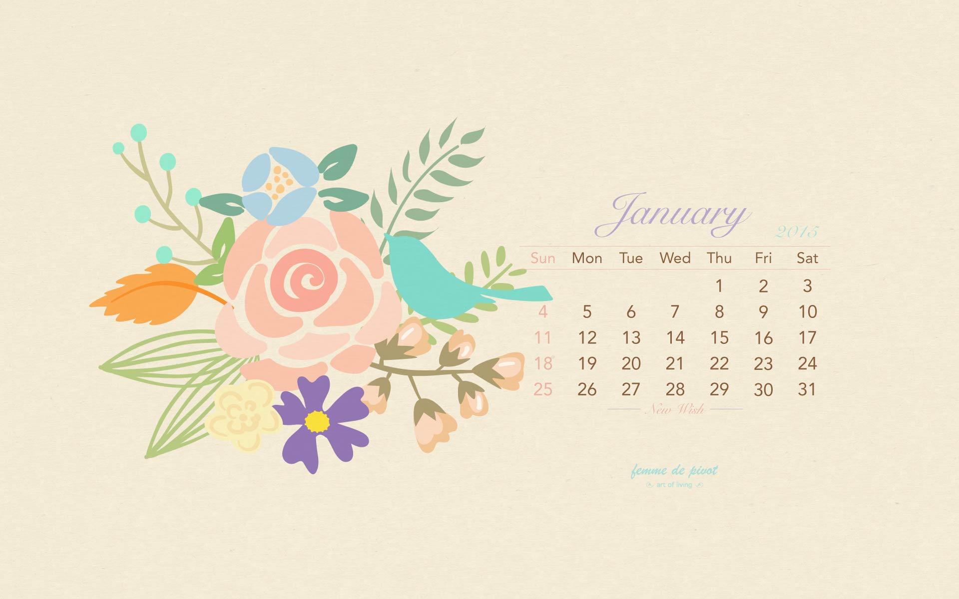 Calendar Wallpaper Jan : January desktop wallpaper wallpapersafari