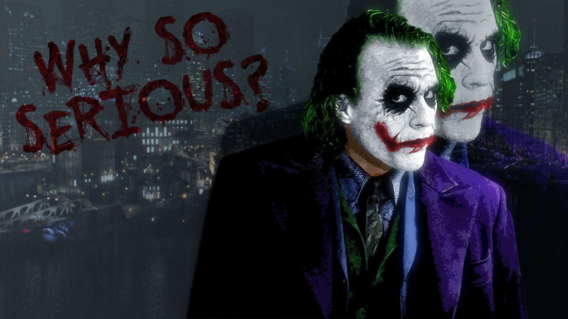 Batman Joker Wallpapers 1920x1080