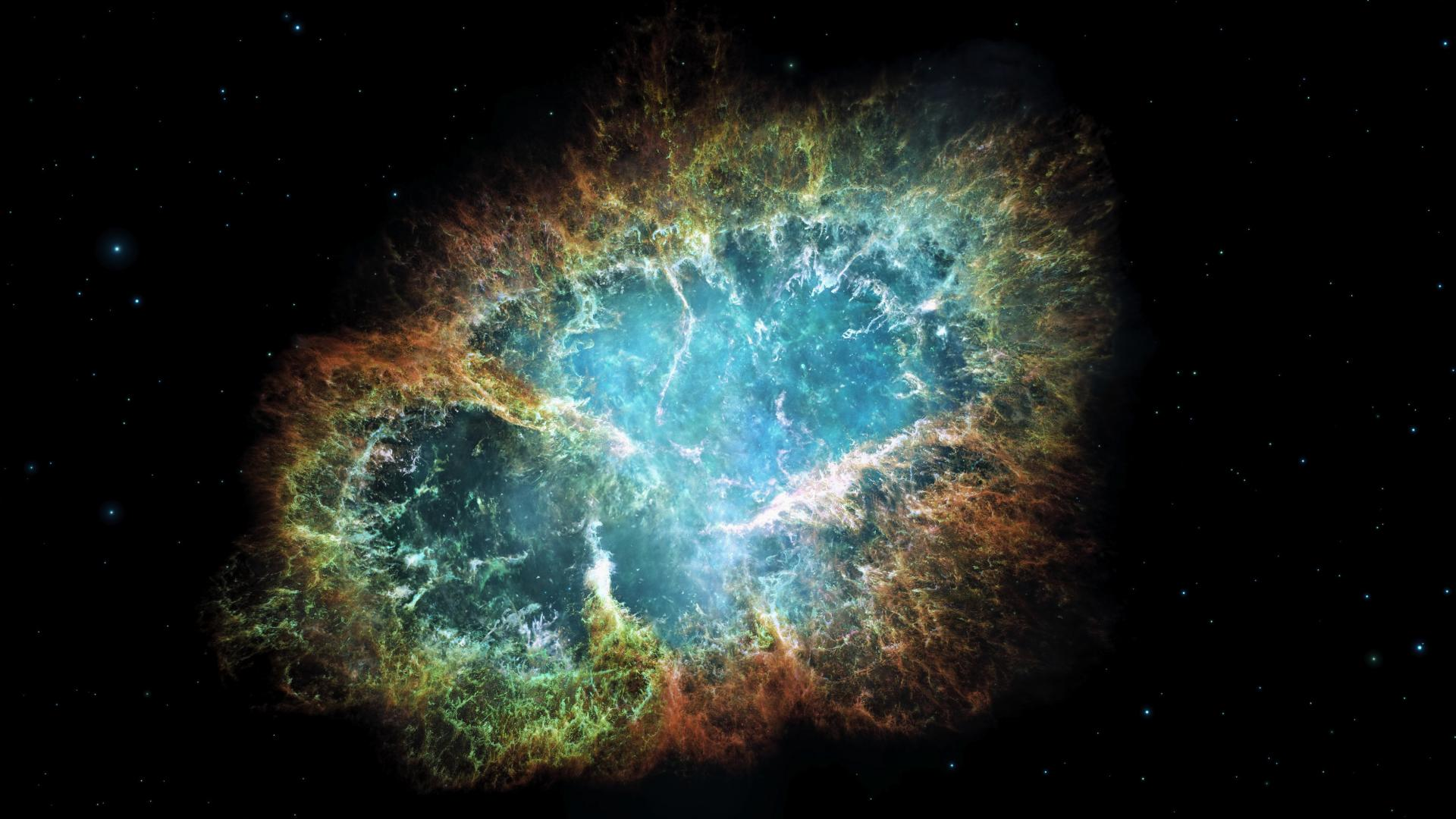 Crab Nebula for Cool Galaxy Backgrounds HD Wallpapers 1920x1080