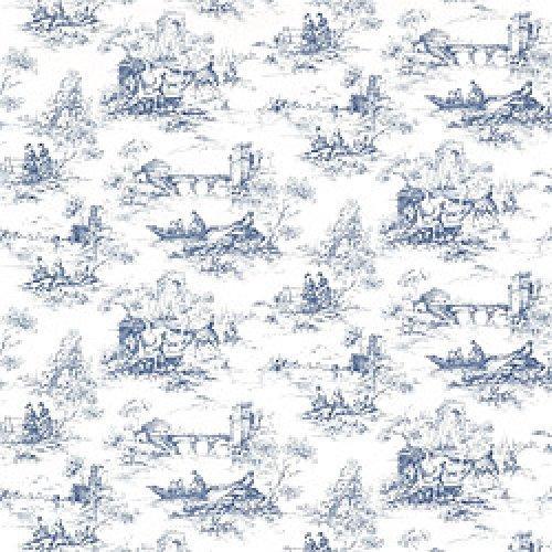 Thibaut Toile Portfolio Petite Toile Wallpaper Alexander Interiors 500x500