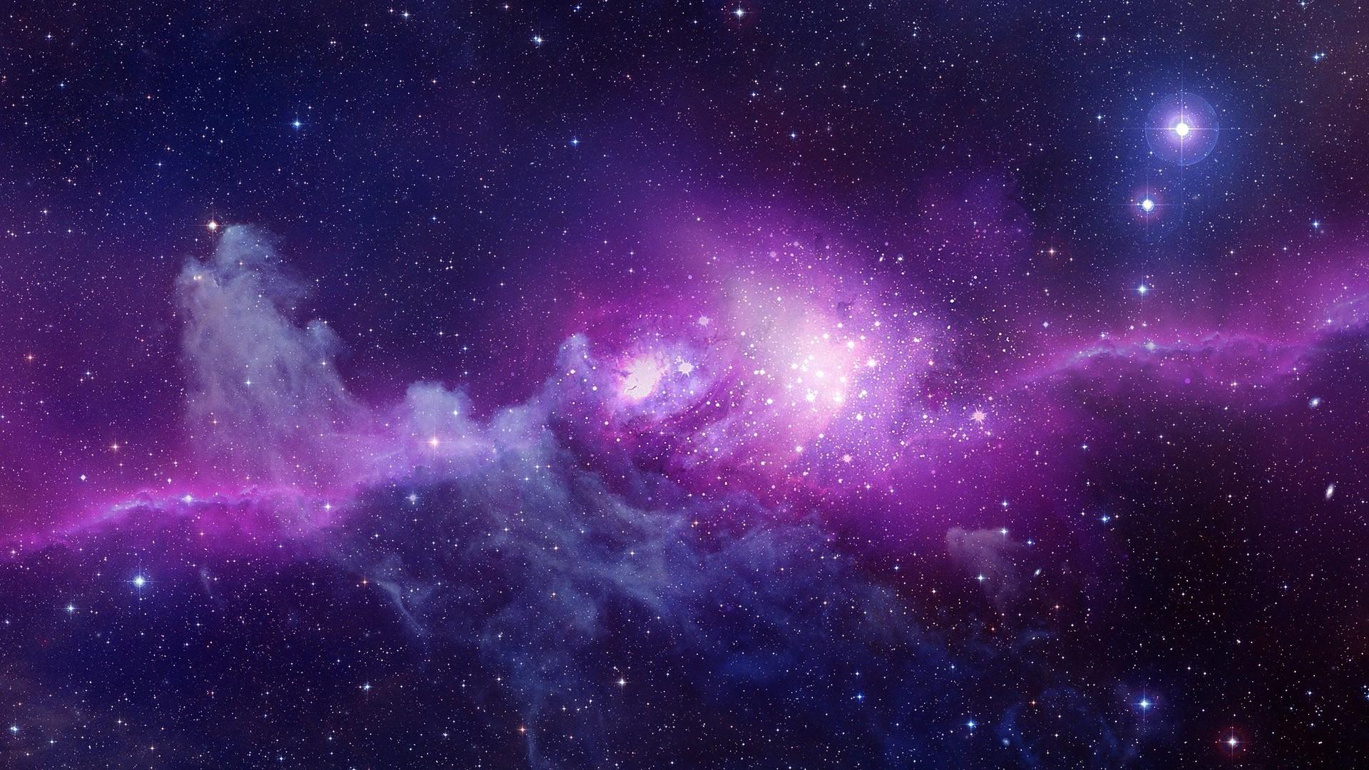 44 Hd Purple Space Wallpaper On Wallpapersafari