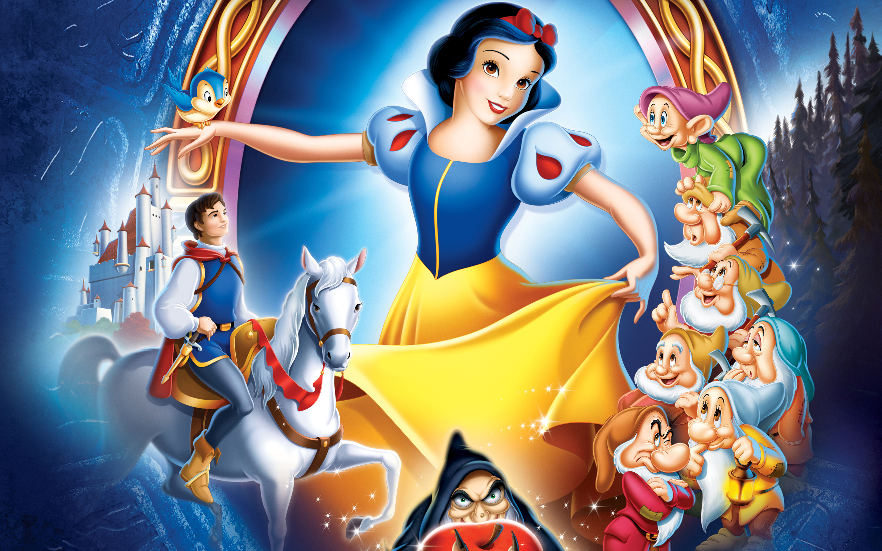 Disney Enchanted Wallpapers HD Wallpapers 2880x1800