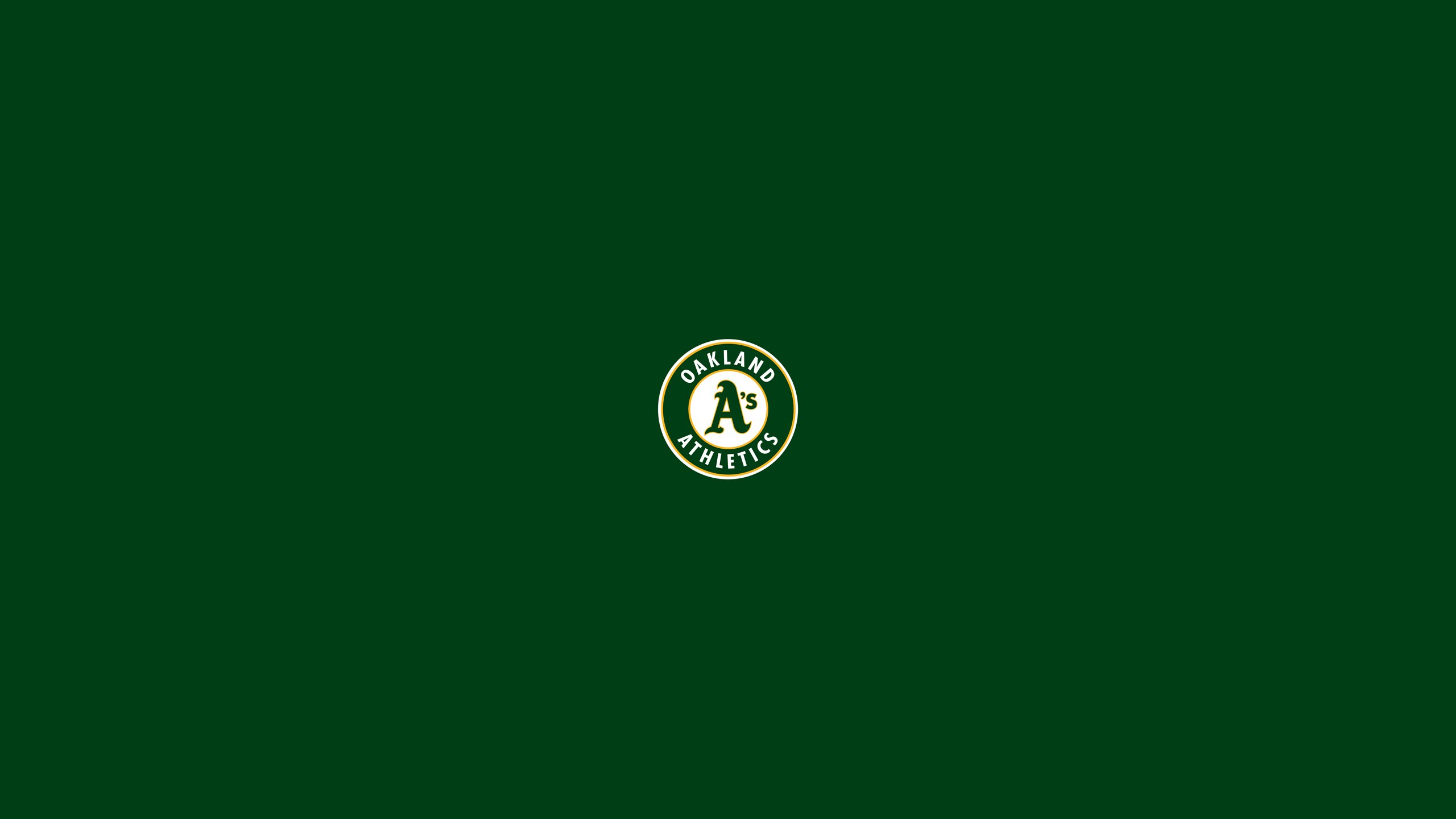OAKLAND ATHLETICS mlb baseball 50 wallpaper 2560x1440 319119 2560x1440