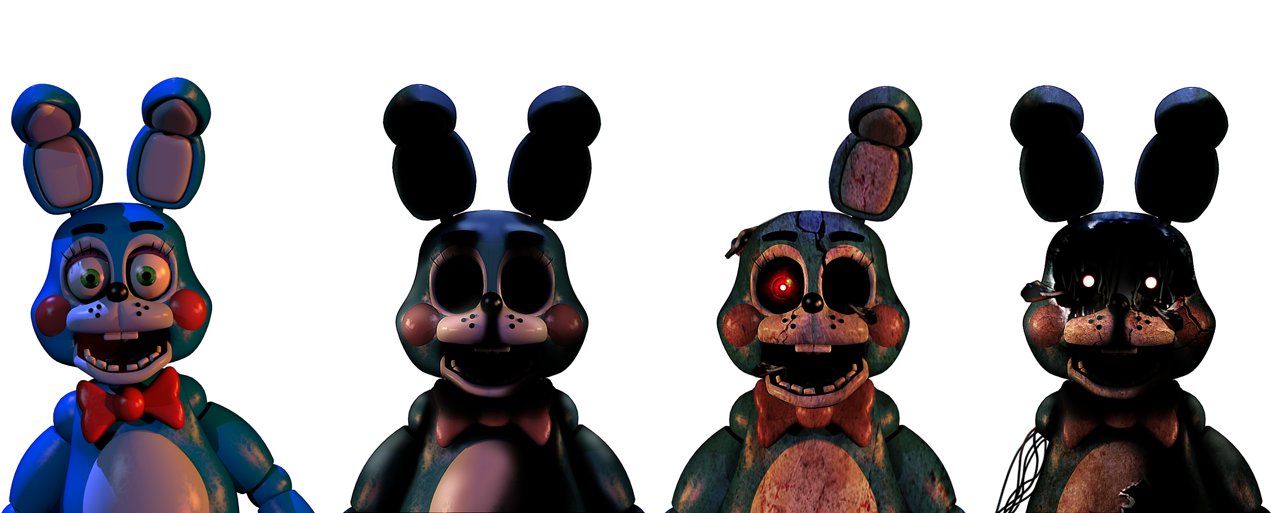 Download Five Nights at Freddys   Toy Bonnies by Christian2099 2600x1050