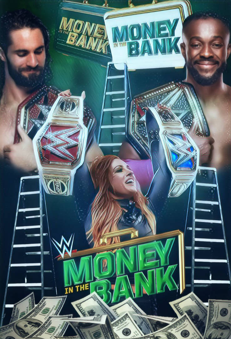 WWE Money In The Bank 2019 by Javi316 739x1082