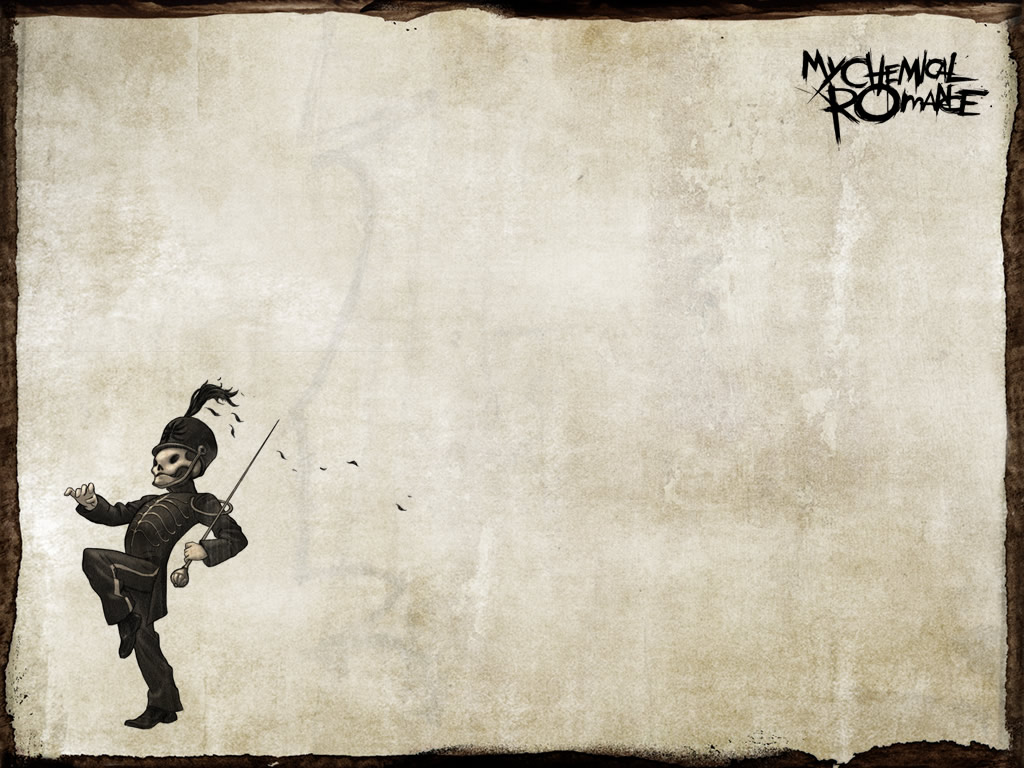 Papel de Parede My Chemical Romance   Banda Wallpaper para Download no 1024x768