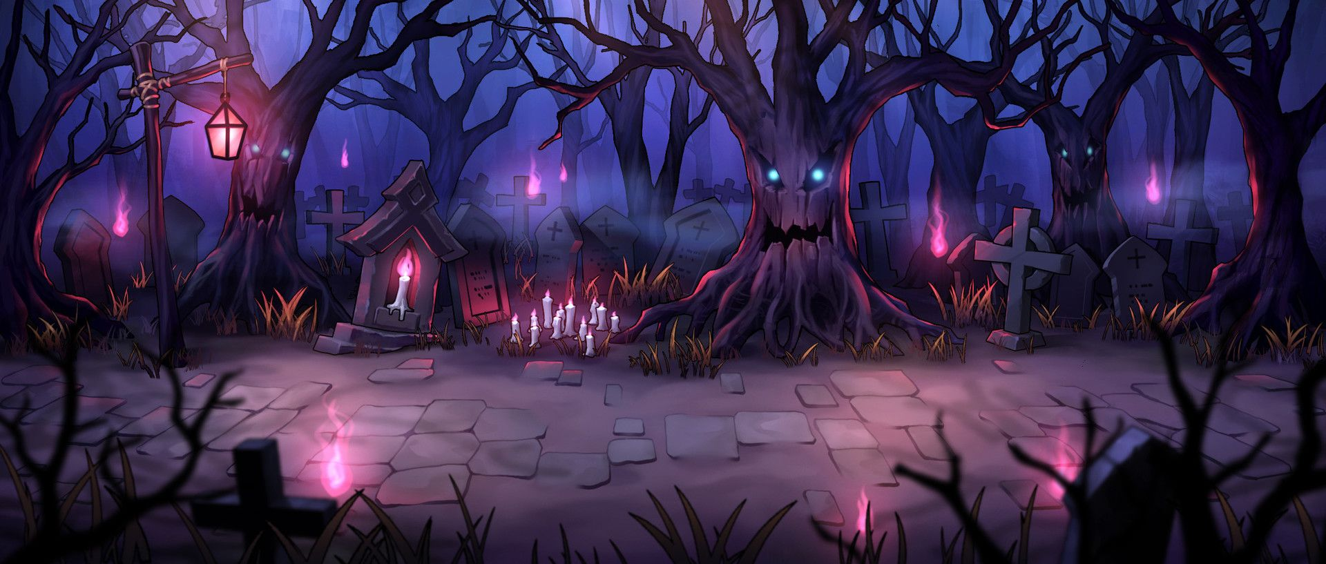 Mobile Game Background FreeMagician   Game background art Game 1920x817