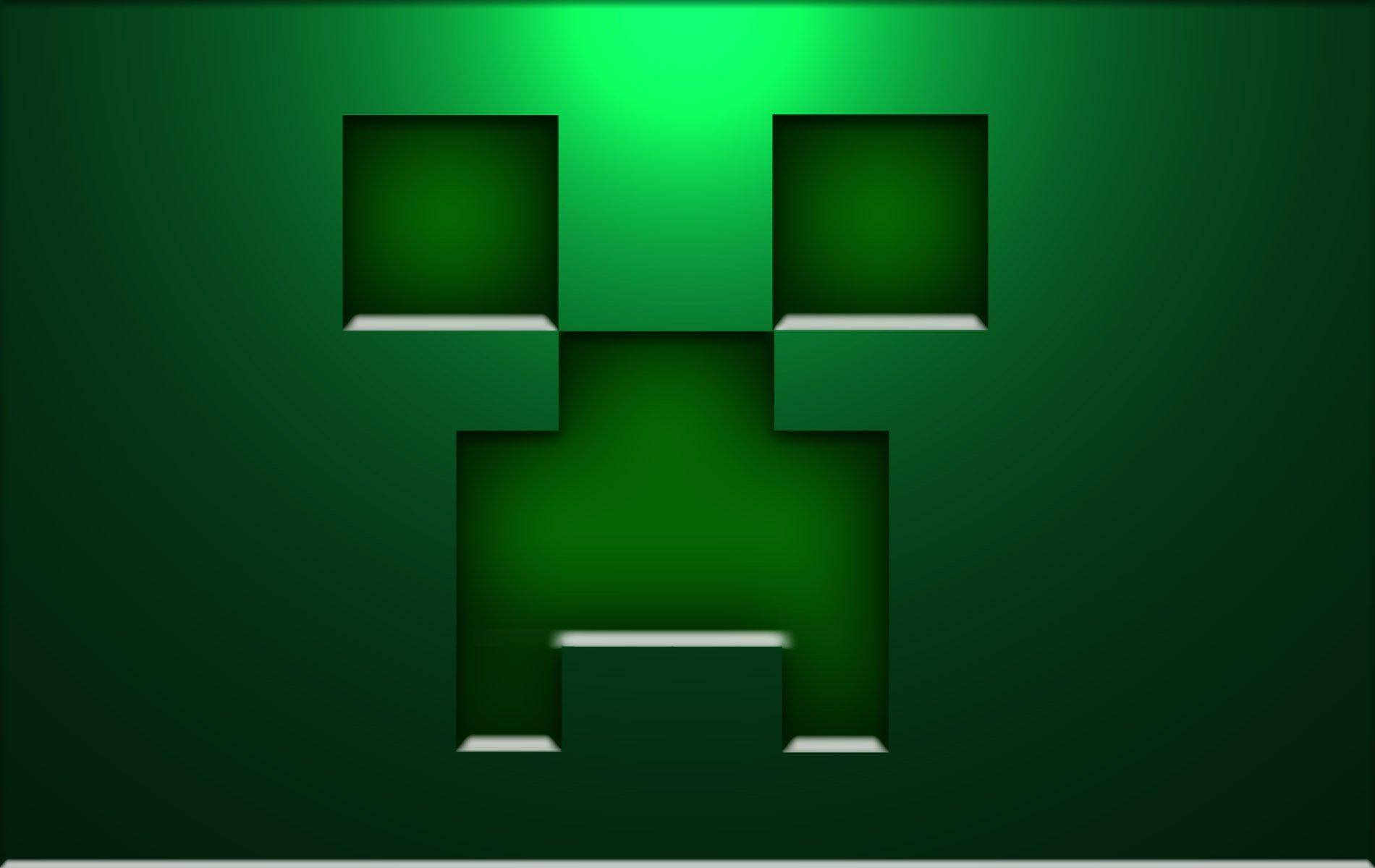 Creeper Minecraft Wallpapers 3D HD Wallpaper of Minecraft 1900x1200
