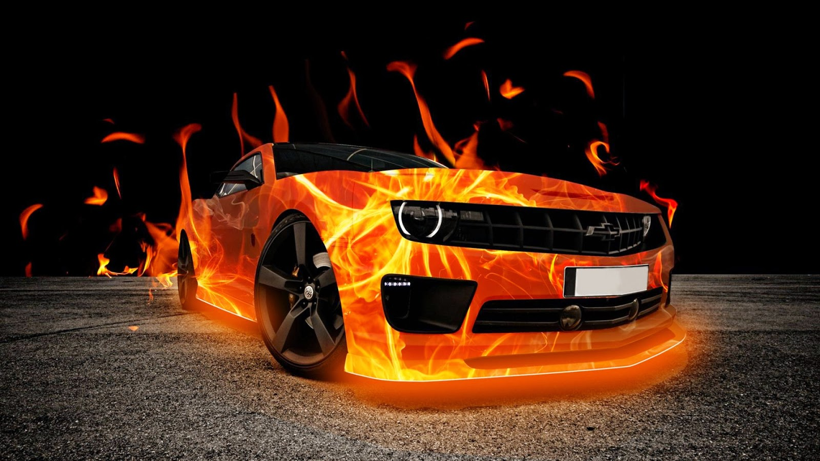 Fire3dwallpapersofcarsfordesktop2jpg 1600x900